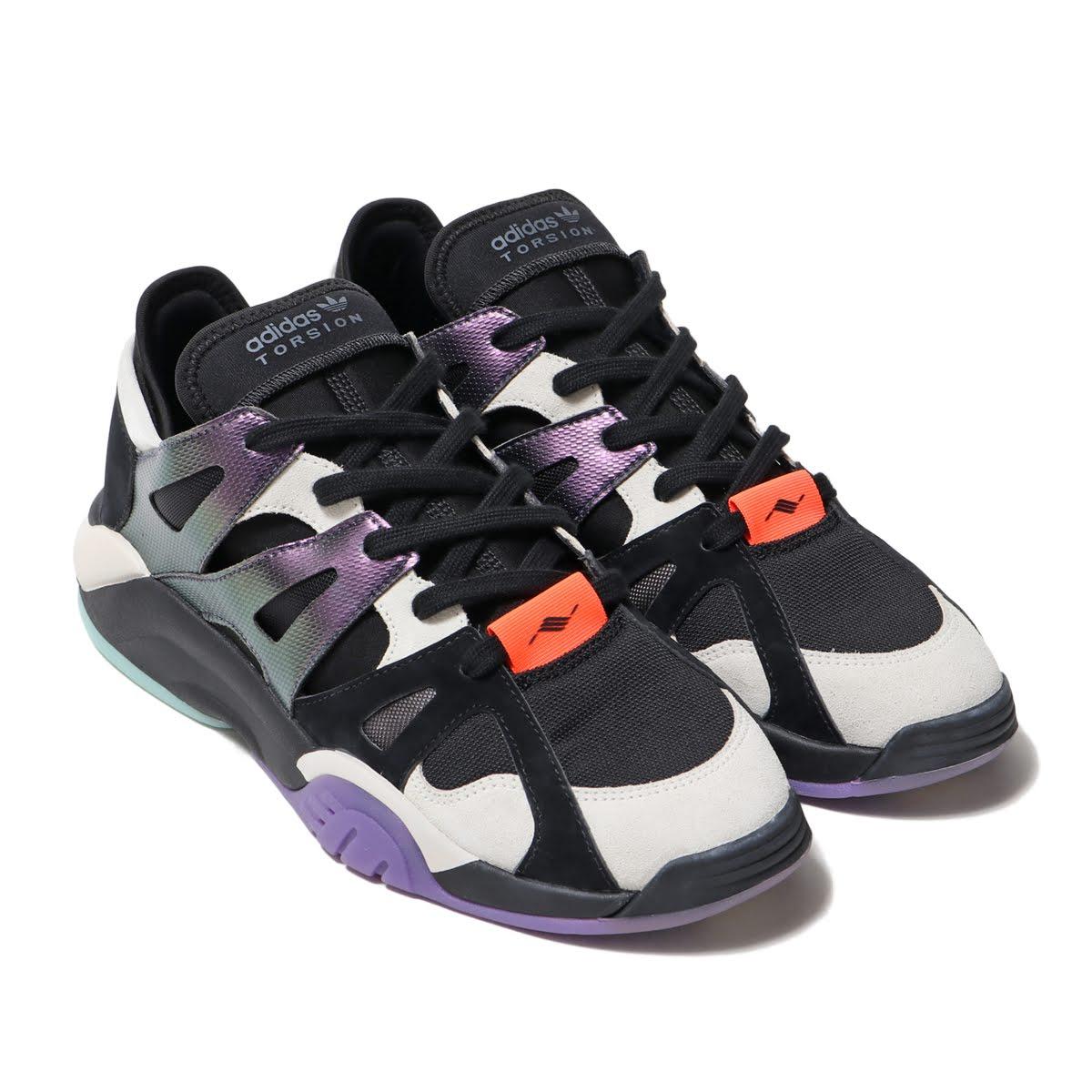 adidas Originals DIMENSION LO(アディダスオリジナルス ディメンション ロー)CORE BLACK/RAW WHITE/ACTIVE PURPLE【メンズ レディース スニーカー】19SS-I