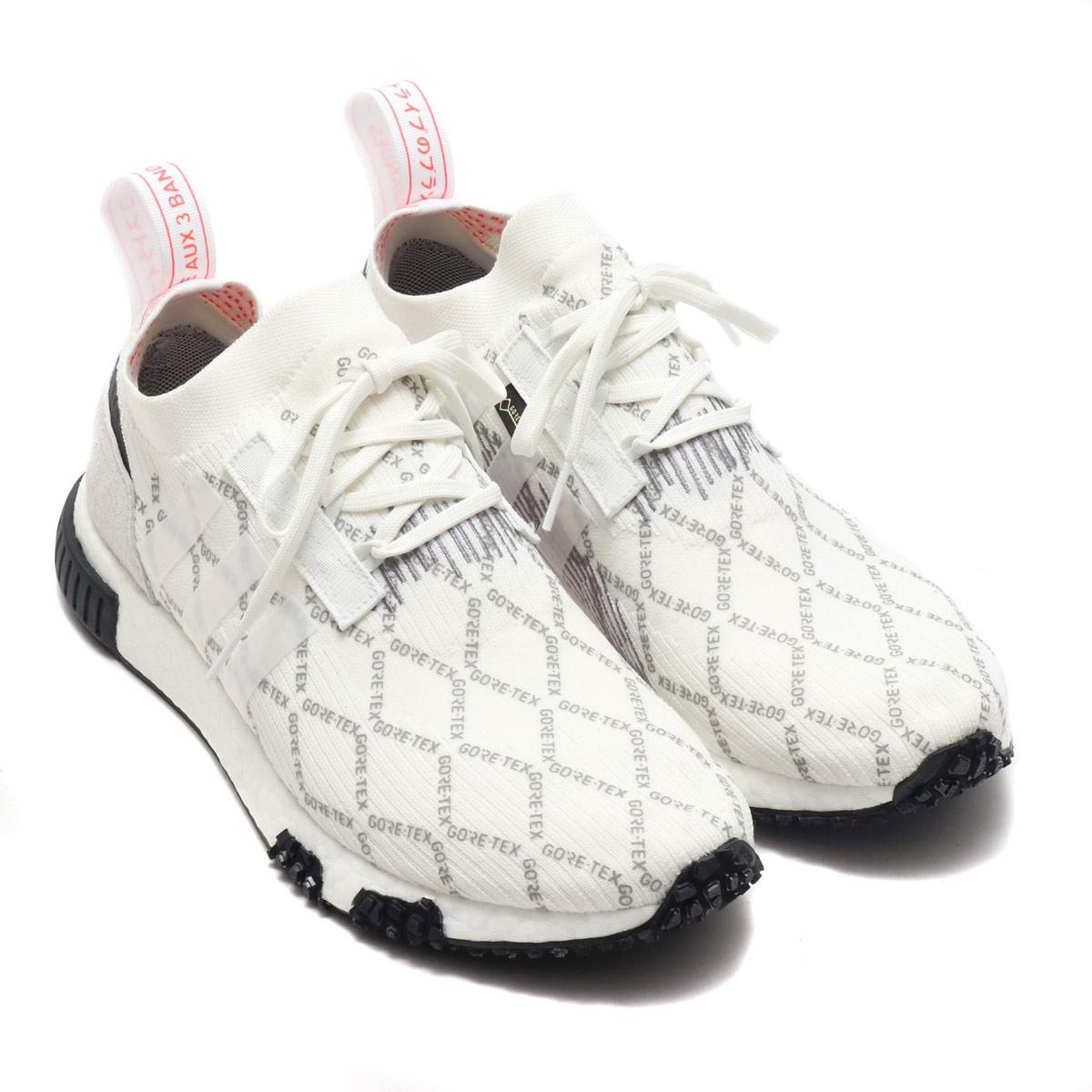 adidas Originals NMD_RACER GTX PK(アディダスオリジナルス NMD_レーサー GTX PK)RUNNING WHITE/RUNNING WHITE/SHOCK RED【メンズ スニーカー】19SS-I