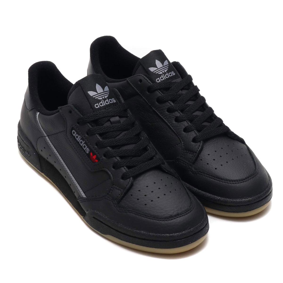adidas Originals CONTINENTAL 80(アディダスオリジナルス コンチネンタル 80)CORE BLACK/GREY THREE/GUM【メンズ スニーカー】19SS-I