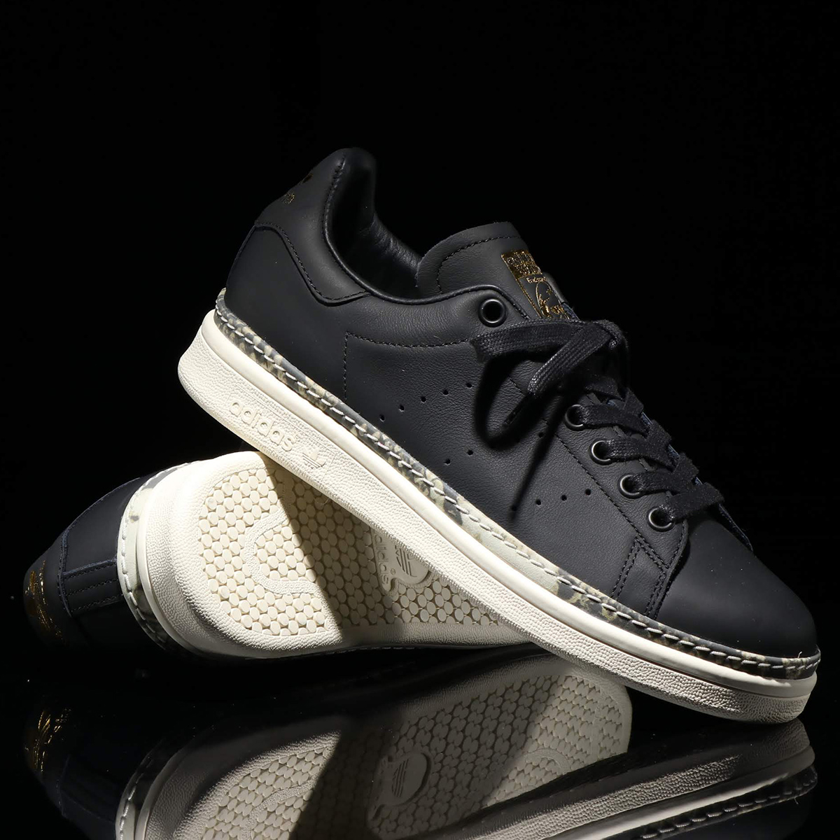 adidas Originals STAN SMITH NEW BOLD W(アディダスオリジナルス スタンスミス ニュー ボールド W)CORE BLACK/OFF WHITE/SUPPLIER COLOR【レディース スニーカー】19SS-I