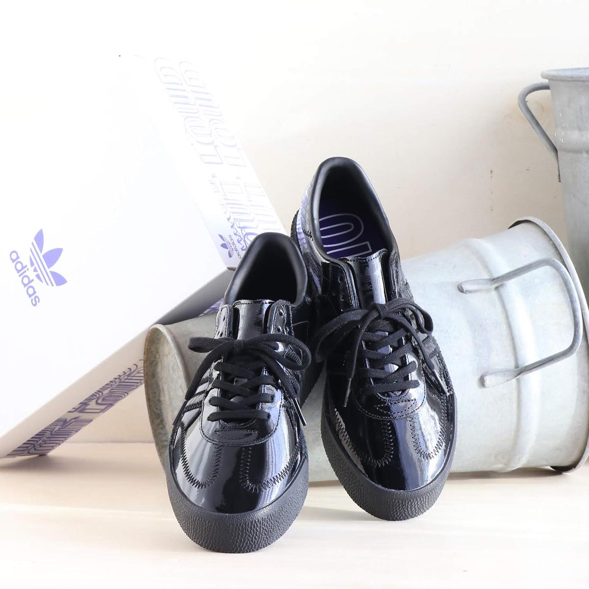 adidas Originals SAMBAROSE W(アディダスオリジナルス サンバローズ W)CORE BLACK/CORE BLACK/ACTIVE PURPLE【メンズ パーカー】19SS-I