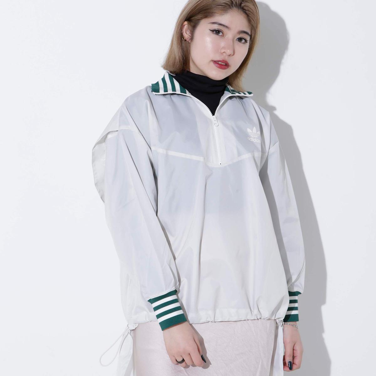 adidas Originals WINDBREAKER(アディダスオリジナルス ウインドブレイカー)RAW WHITE【メンズ ジャケット】19SS-I