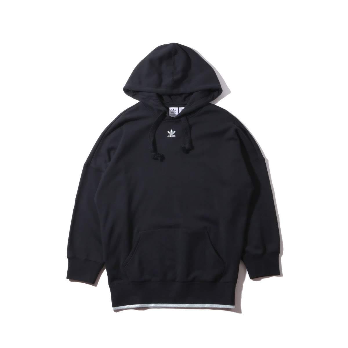 adidas Originals HOODIE(アディダスオリジナルス フーディー)BLACK【レディース パーカー】19SS-I