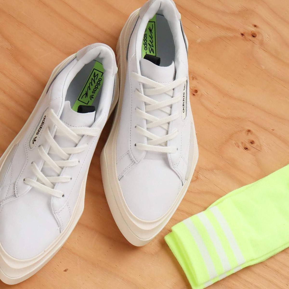 adidas Originals adidas HYPERSLEEK W(アディダスオリジナルス ハイパースリーク W)RUNNING WHITE/OFF WHITE/CRYSTAL WHITE【メンズ レディース スニーカー】19SS-S