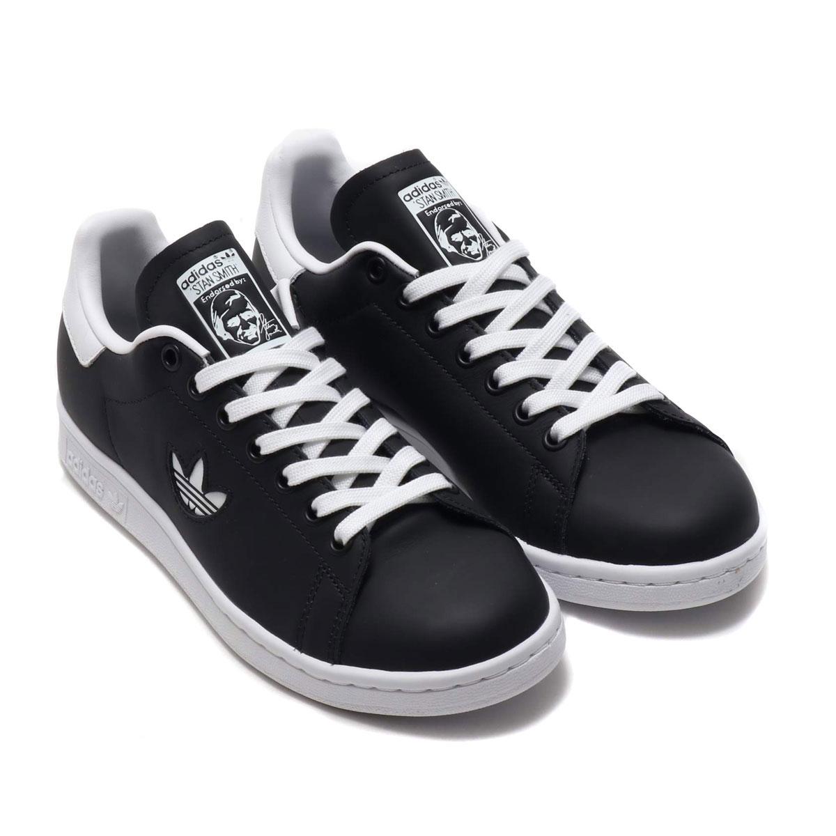 adidas Originals STAN SMITH (アディダスオリジナルス スタンスミス)CORE BLACK/FTWR WHITE/CORE BLACK【レディース スニーカー】19SS-S