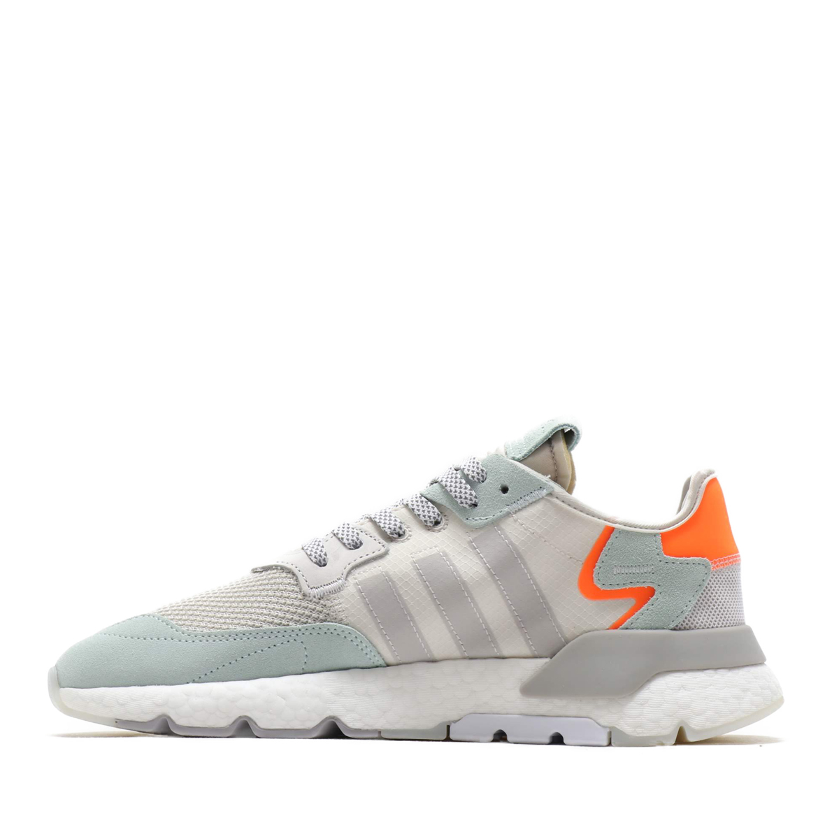 adidas Originals NITE JOGGER (Adidas originals knight jogger) RAW WHITEGREY ONE F17VAPOUR GREEN 19SS S