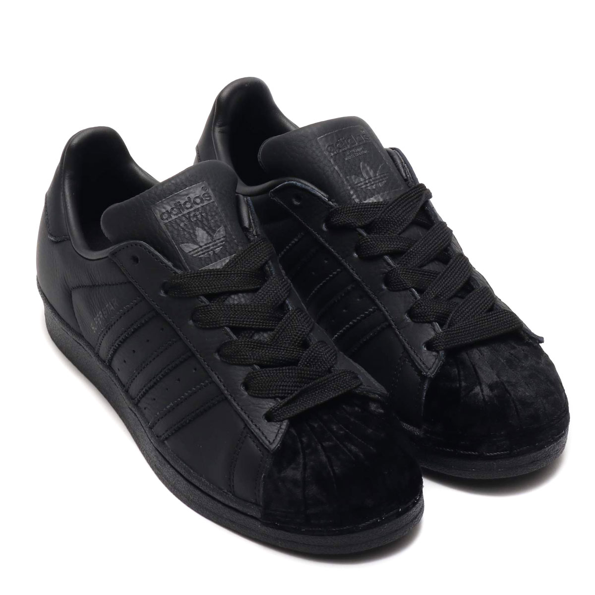 adidas Originals SUPERSTAR W(アディダスオリジナルス スパースター W)CORE BLACK/CORE BLACK/CORE BLACK【メンズ レディース スニーカー】19SS-S
