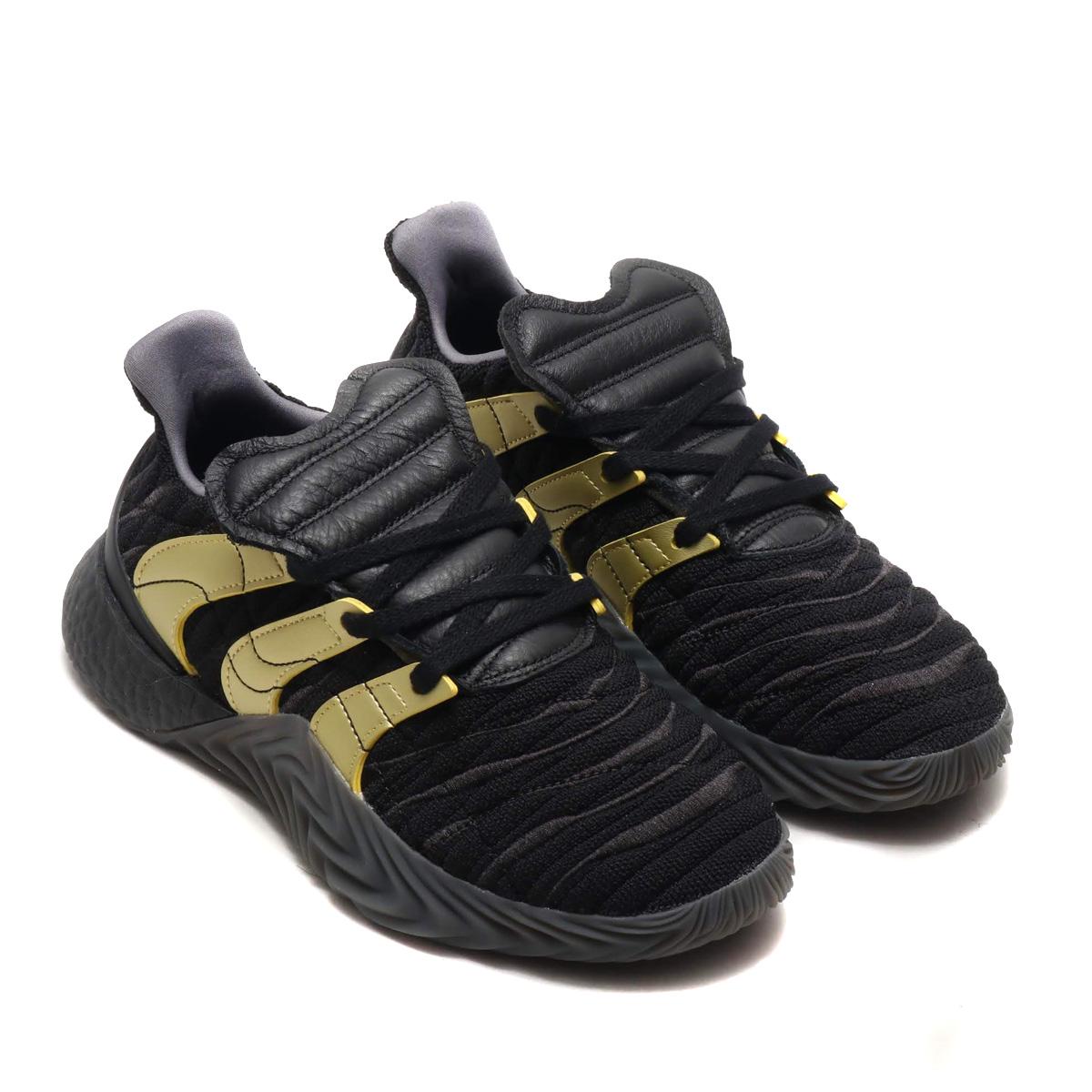 adidas Originals SOBAKOV BOOST (アディダスオリジナルス ソバコフ ブースト)CORE BLACK/GOLD MET./CARBON【メンズ スニーカー】19SP-S