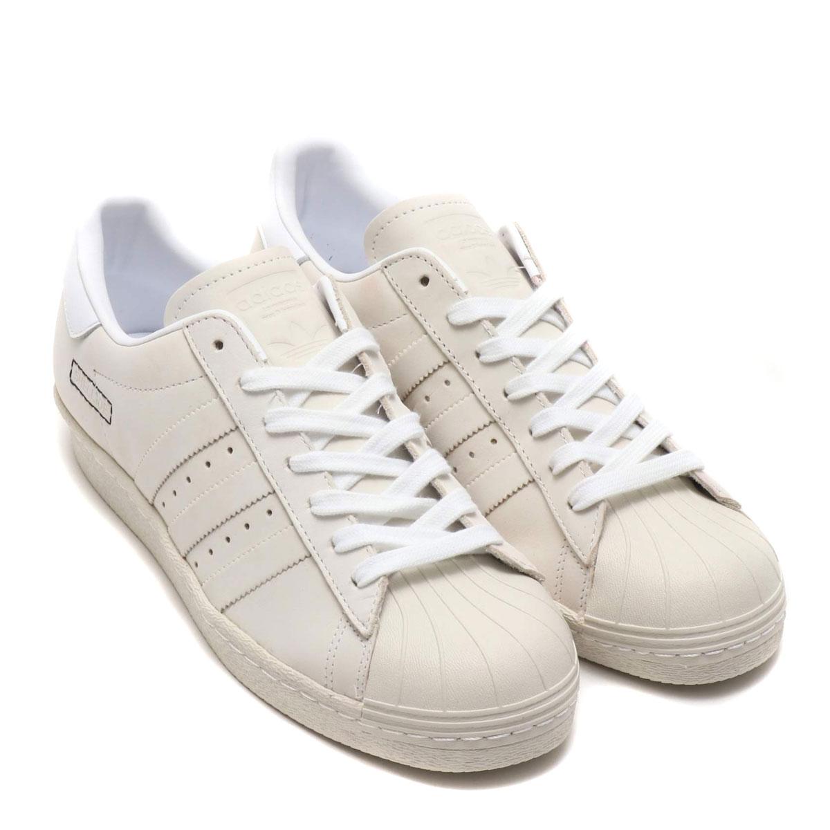 adidas Originals SUPERSTAR 80s(アディダスオリジナルス スパースター 80s)RUNNING WHITE/RUNNING WHITE/RAW WHITE【メンズ レディース スニーカー】19SS-S