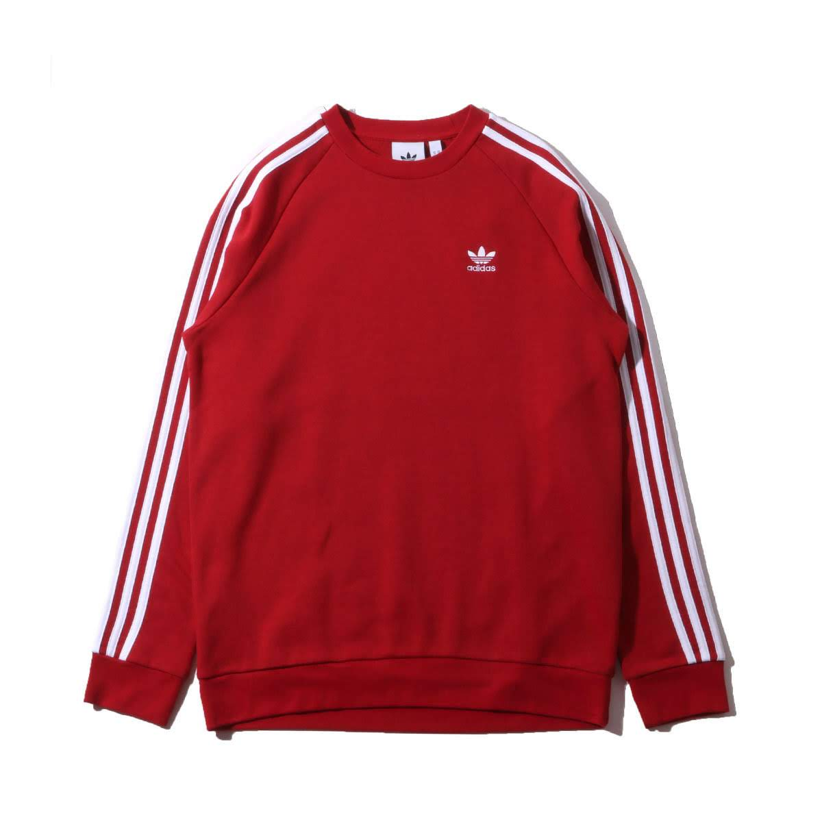 adidas - sweat crewneck 3 stripes