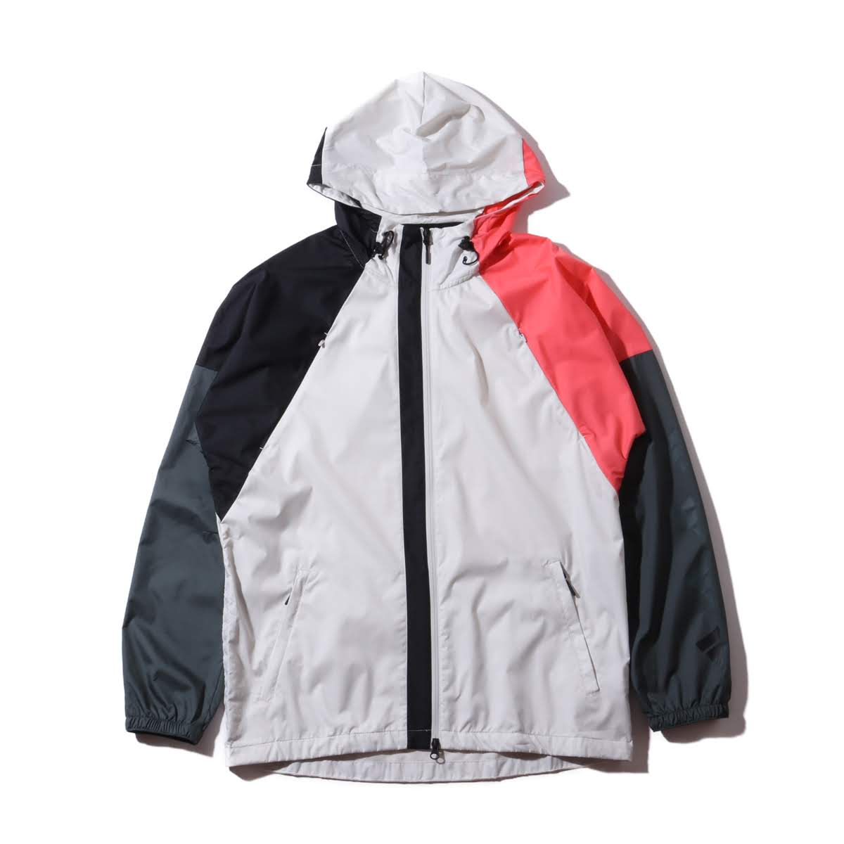 adidas M THE PACK WND JACKET (アディダス M ザ パック ウィンド ジャケット)RAW WHITE/LEGEND IVY/BLACK/PRISM PINK【メンズ ジャケット】19SS-I