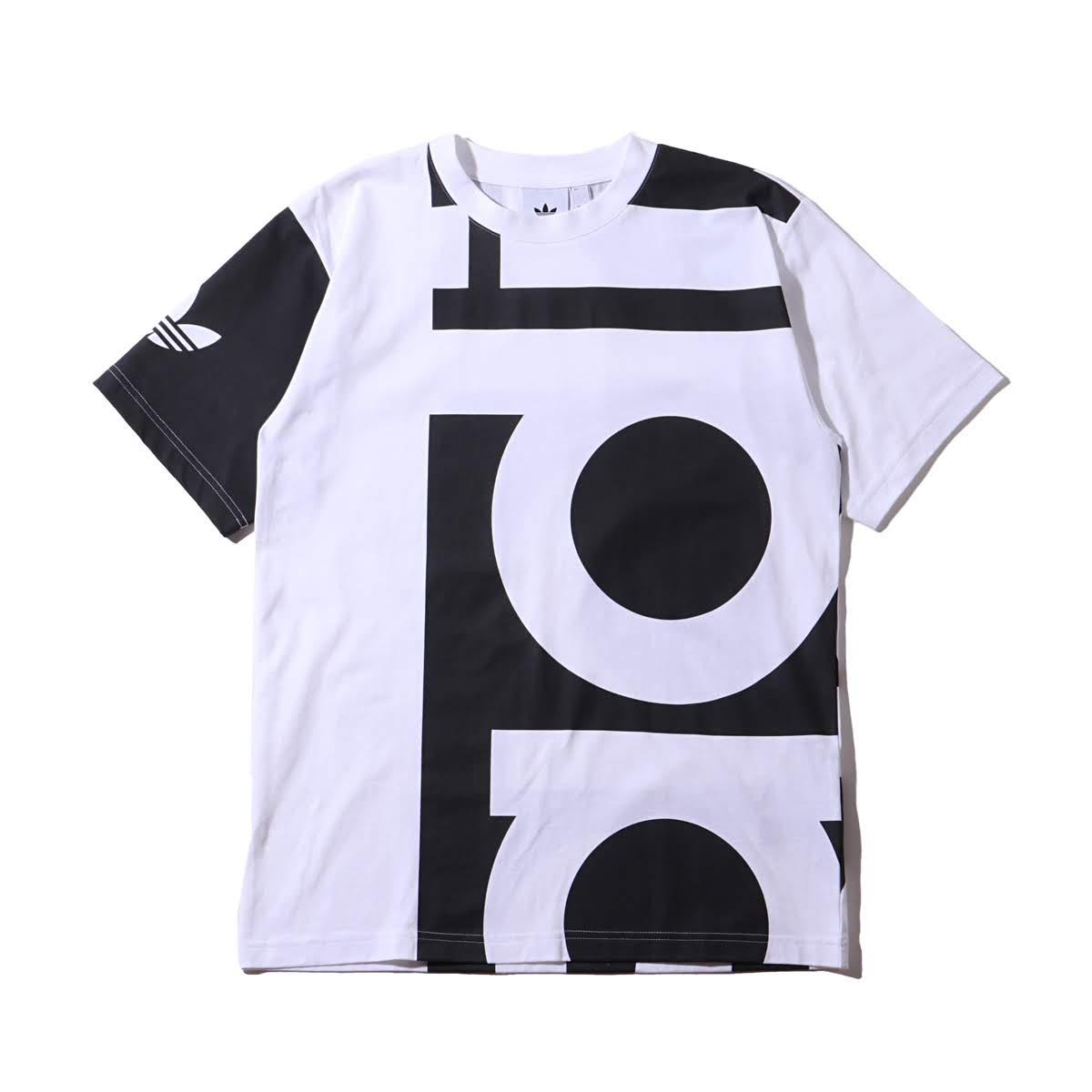 adidas Originals BIG ADI TEE (アディダスオリジナルスビッグアディティー) BLACKWHITE 19SS I