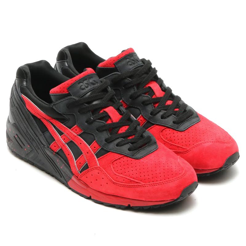 ASICS Tiger GEL-SIGHT(アシックス タイガー ゲル サイト)BLACK/RED【メンズ レディース スニーカー】16AW-I