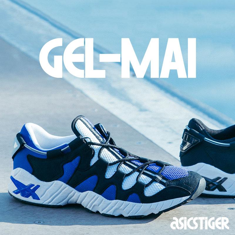 ASICS Tiger GEL-MAI(アシックス タイガー ゲルマイ)ASICS BLUE/BLACK【メンズ スニーカー】18AW-I