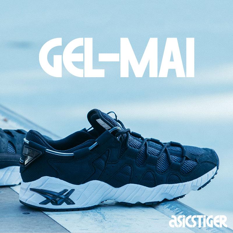 ASICS Tiger GEL-MAI(アシックス タイガー ゲルマイ)BLACK/BLACK【メンズ スニーカー】19SS-I