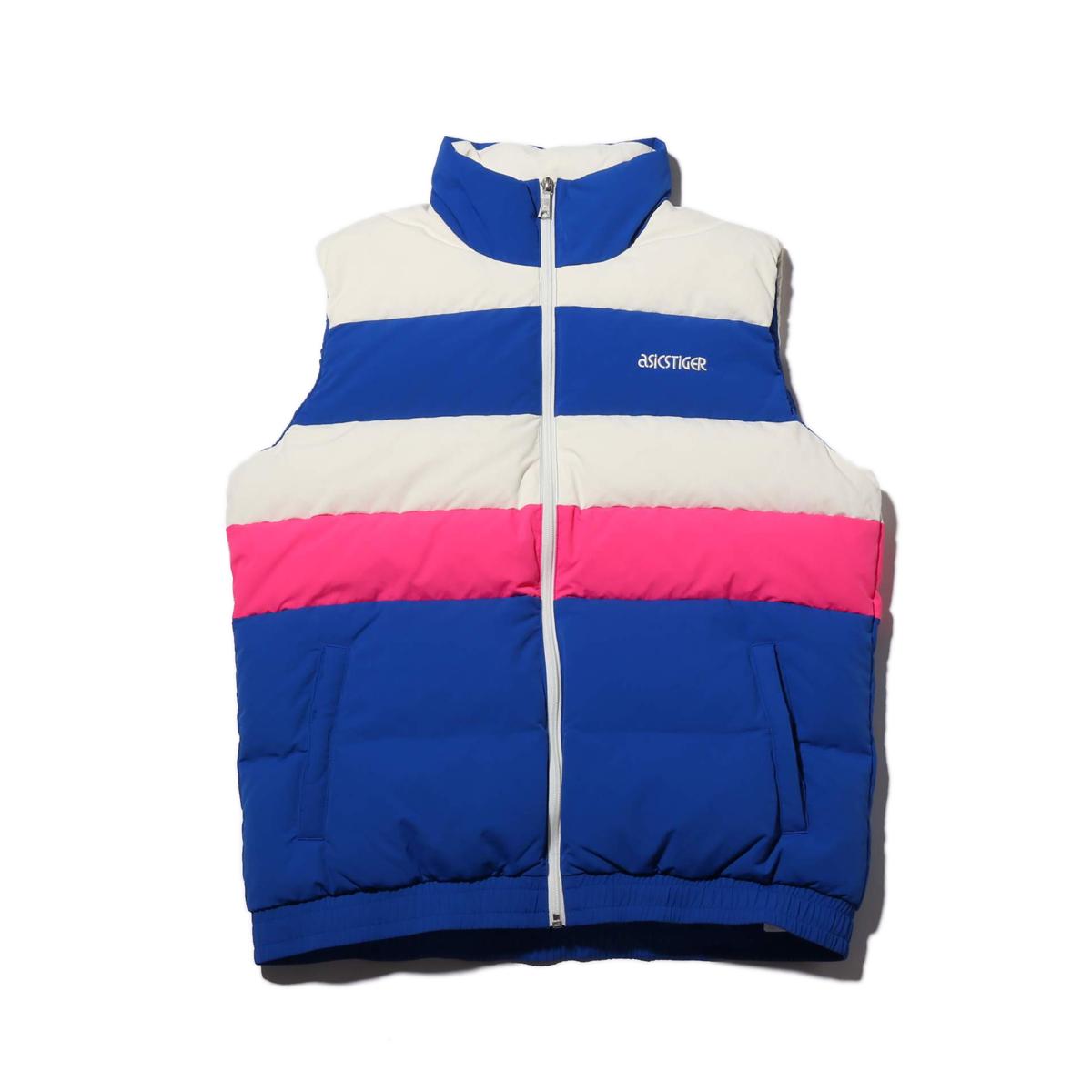 ASICSTIGER CB Down Vest(アシックスタイガー CB ダウン ベスト)ASICS BLUE【メンズ レディース ベスト】18FW-I