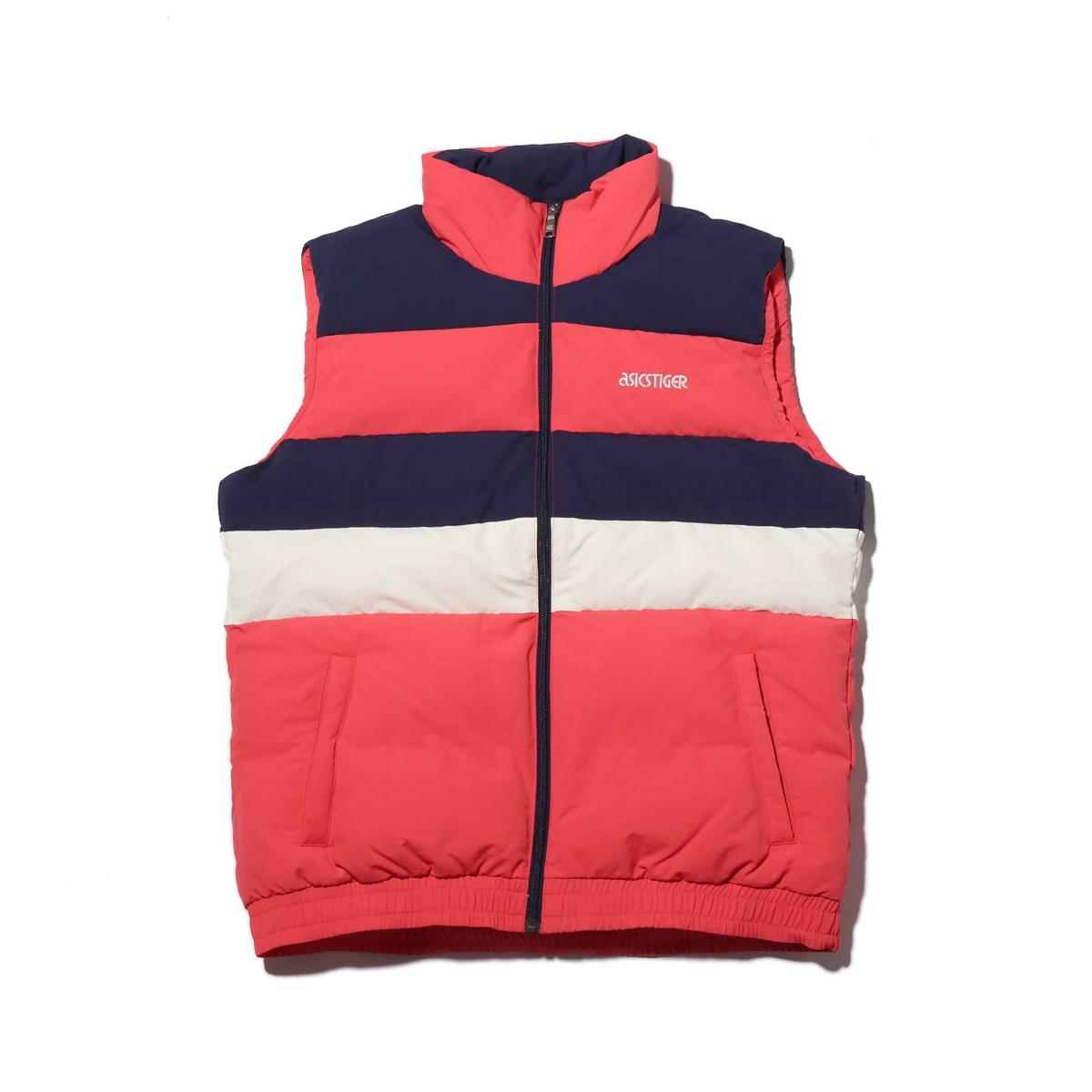 ASICSTIGER CB Down Vest(アシックスタイガー CB ダウン ベスト)RED ALERT【メンズ レディース ベスト】18FW-I