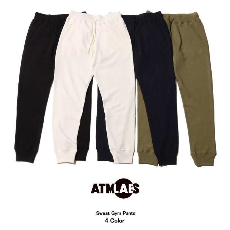 ATMOS LAB SWEAT GYM PANTS (アトモスラボ スウェット ジム パンツ)4色展開【メンズ スウェットパンツ】16FW-I