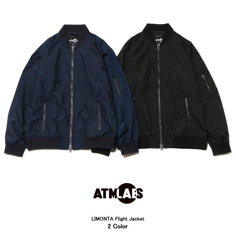 ATMOS LAB LIMONTA Flight Jacket(アトモス ラボ リモンタ フライト ジャケット)2色展開【メンズ】【アウター】16SS-I