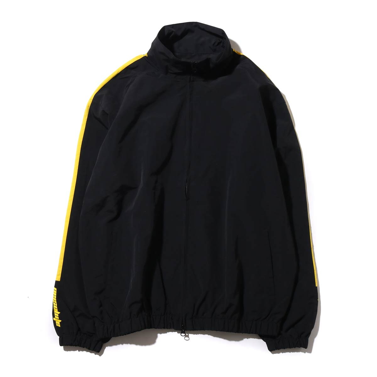 ファッション ATMOS LAB NYLON TRACK ライン LINE ATMOS JACKET(アトモスラボ ナイロン トラック LAB ライン ジャケット)(BLACK/YELLOW)17FW-I, アールワイレンタル:1d37e081 --- hortafacil.dominiotemporario.com