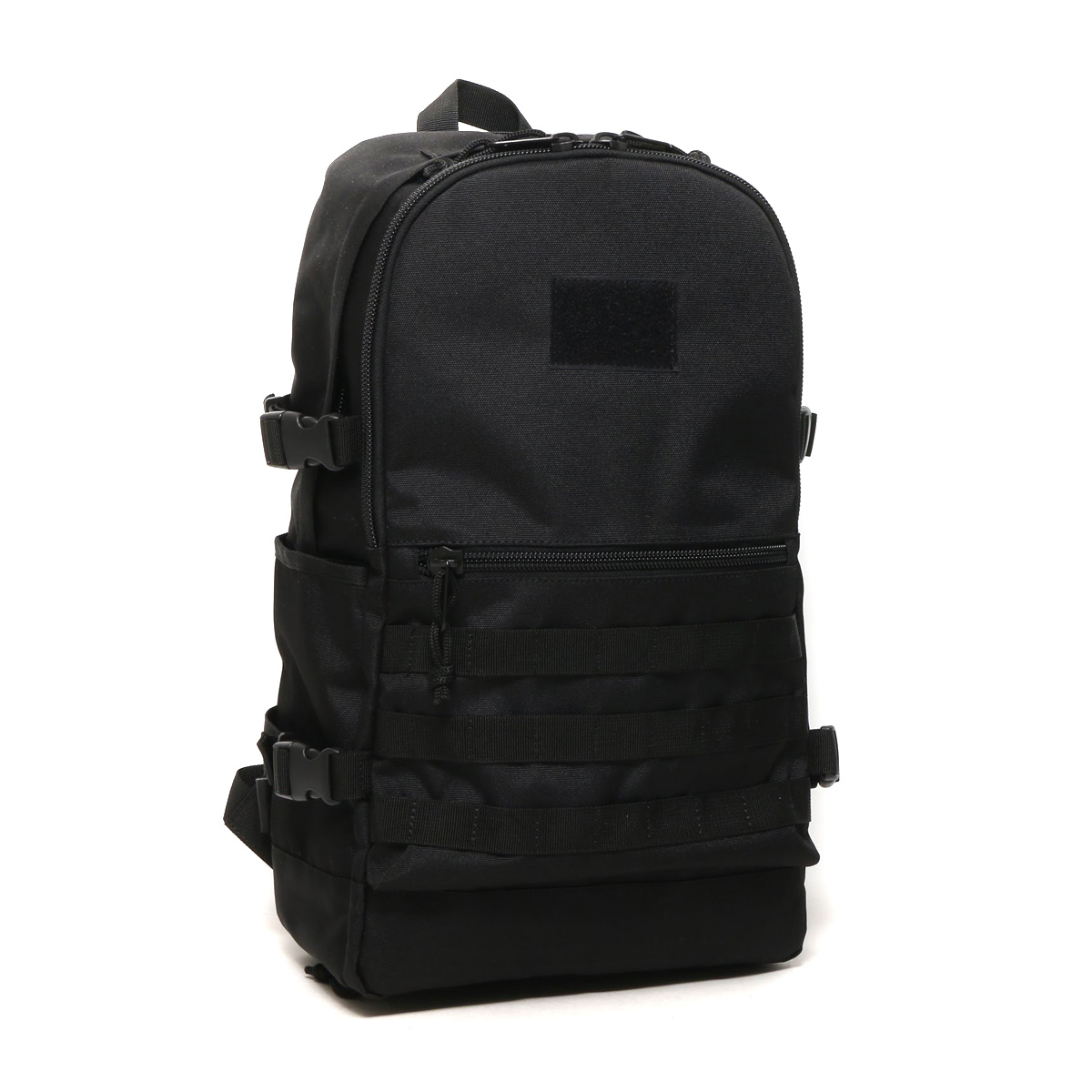 ATMOS LAB x MAKAVELIC ASSAULT BACKPACK(アトモスラボ x マキャべリック アサルトバックパック)(BLACK)18SP-S
