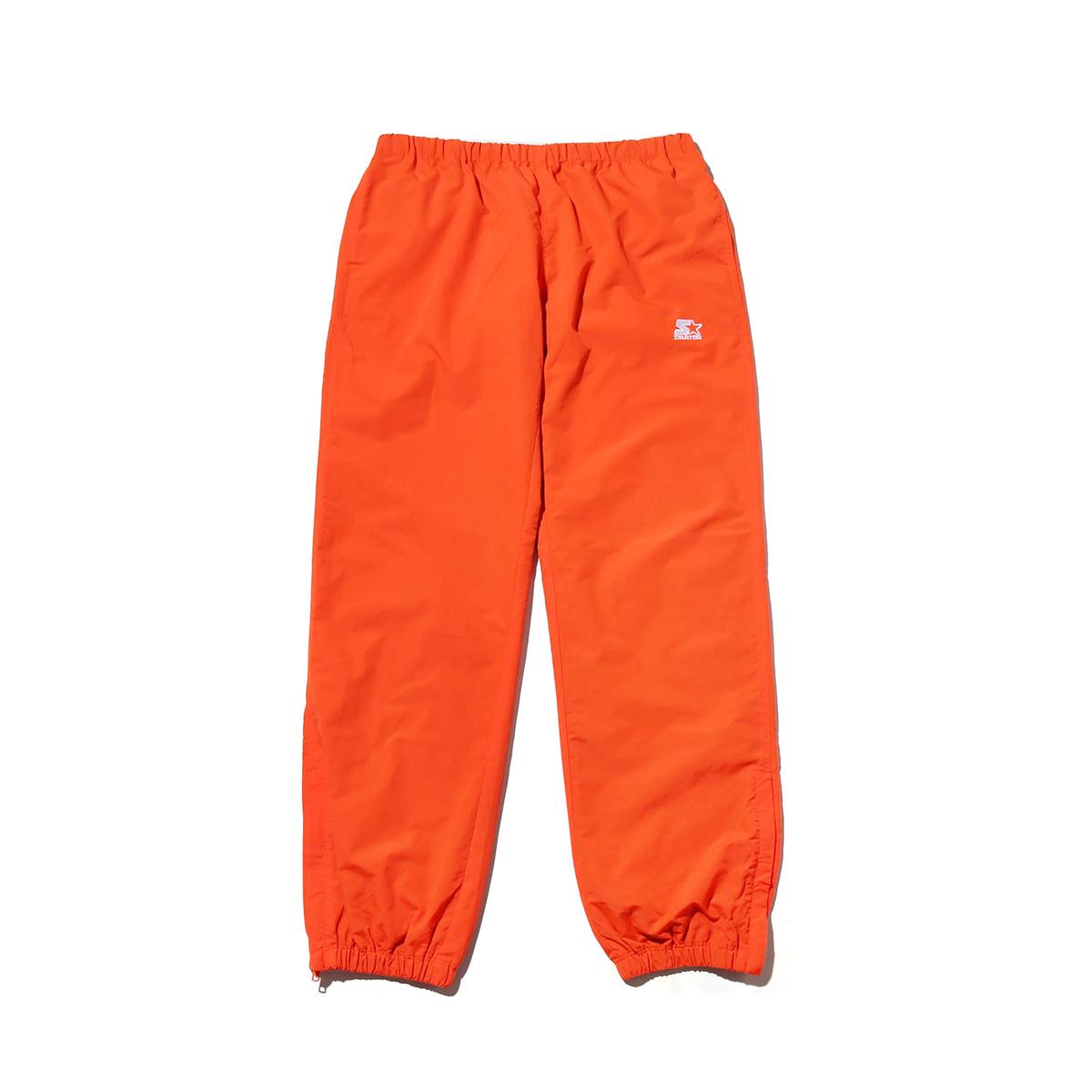 STARTER BLACK LABEL x ATMOS LAB WARM UP PANTS(スターター ブラックレーベル アトモスラボ ウォームアップ パンツ)orange【メンズ パンツ】18FW-S