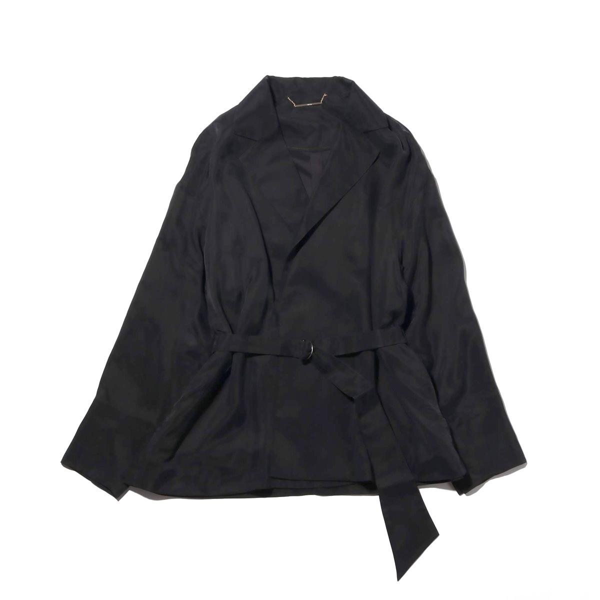 atmos pink ベルト付き ジャケット (アトモスピンク ベルトツキ ジャケット)BLACK【レディース ジャケット】18FA-I