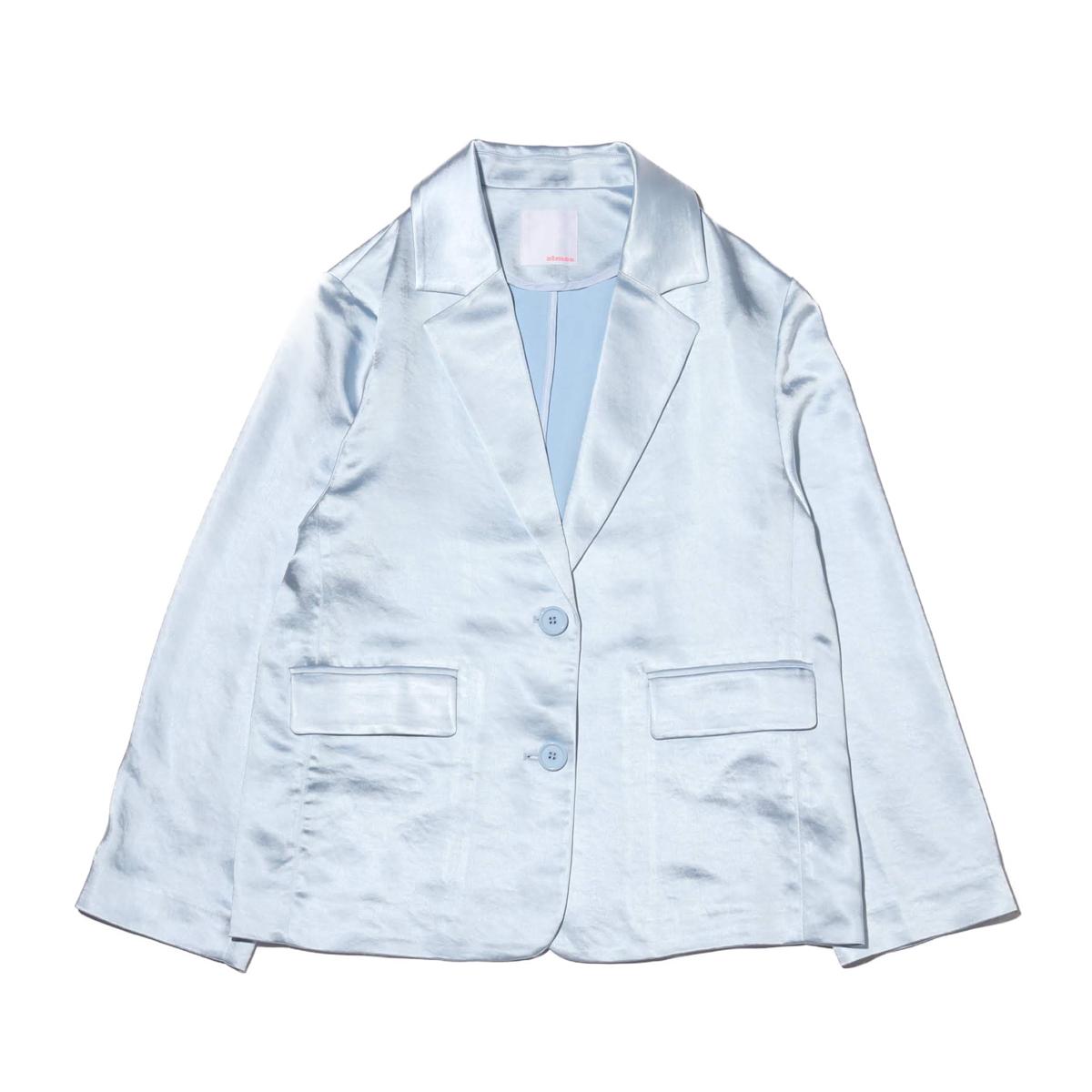 atmos pink サテン セットアップ ジャケット(アトモスピンク サテン セットアップ ジャケット)BLUE【レディース ジャケット】20SP-I