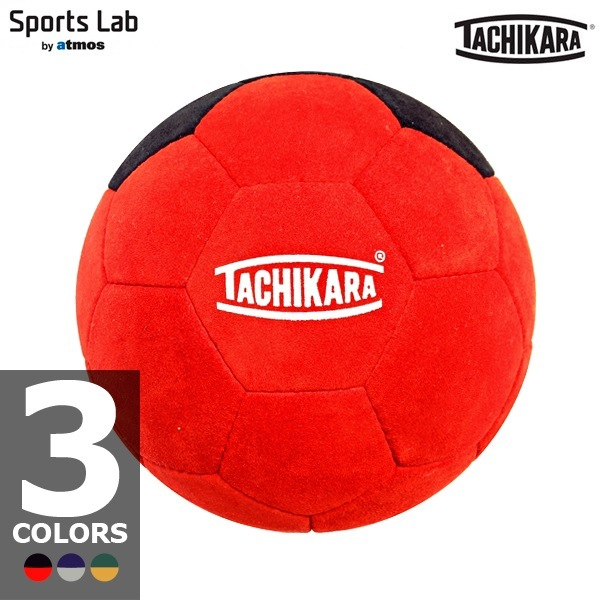 "TACHIKARA HAND STITCH FOOTBALL ""SUEDE"" 3 color development and official size and weight equivalent 5 ball No."