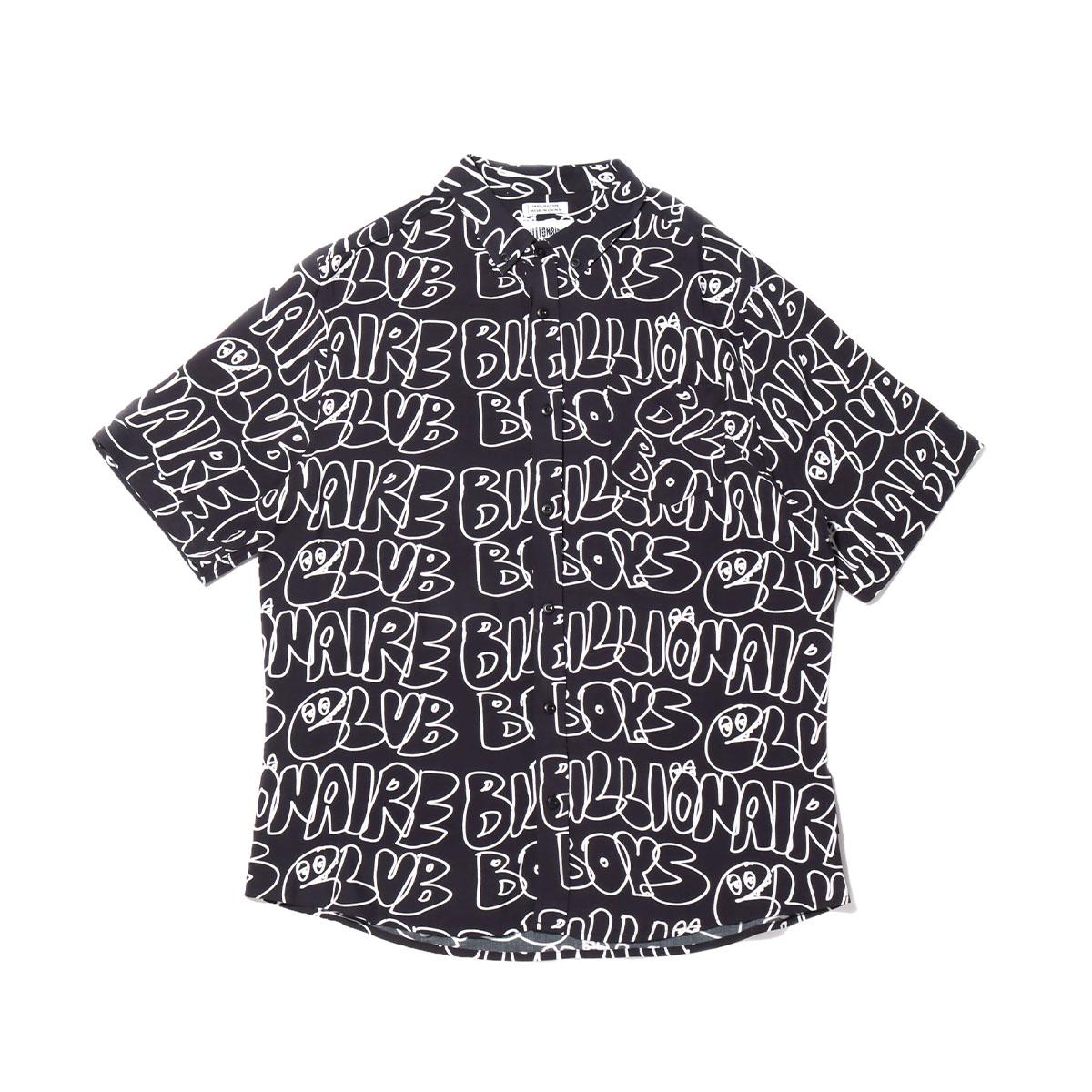 【半額】 BILLIONAIRE BOYS CLUB BB RIPPLE SHIRT(ビリオネア ボーイズ クラブ ビービー リップル シャツ)BLACK【メンズ 半袖Tシャツ】20SU-I, キャンハートサプリメント ef4b1353