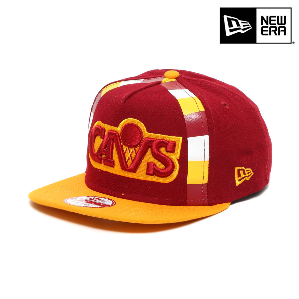 f11478514a282 NEW ERA 9FIFTY SNAPBACK A-FRAME Cleveland Cavaliers (new gills nine fifty  snapback ray frame Cleveland Cavaliers)