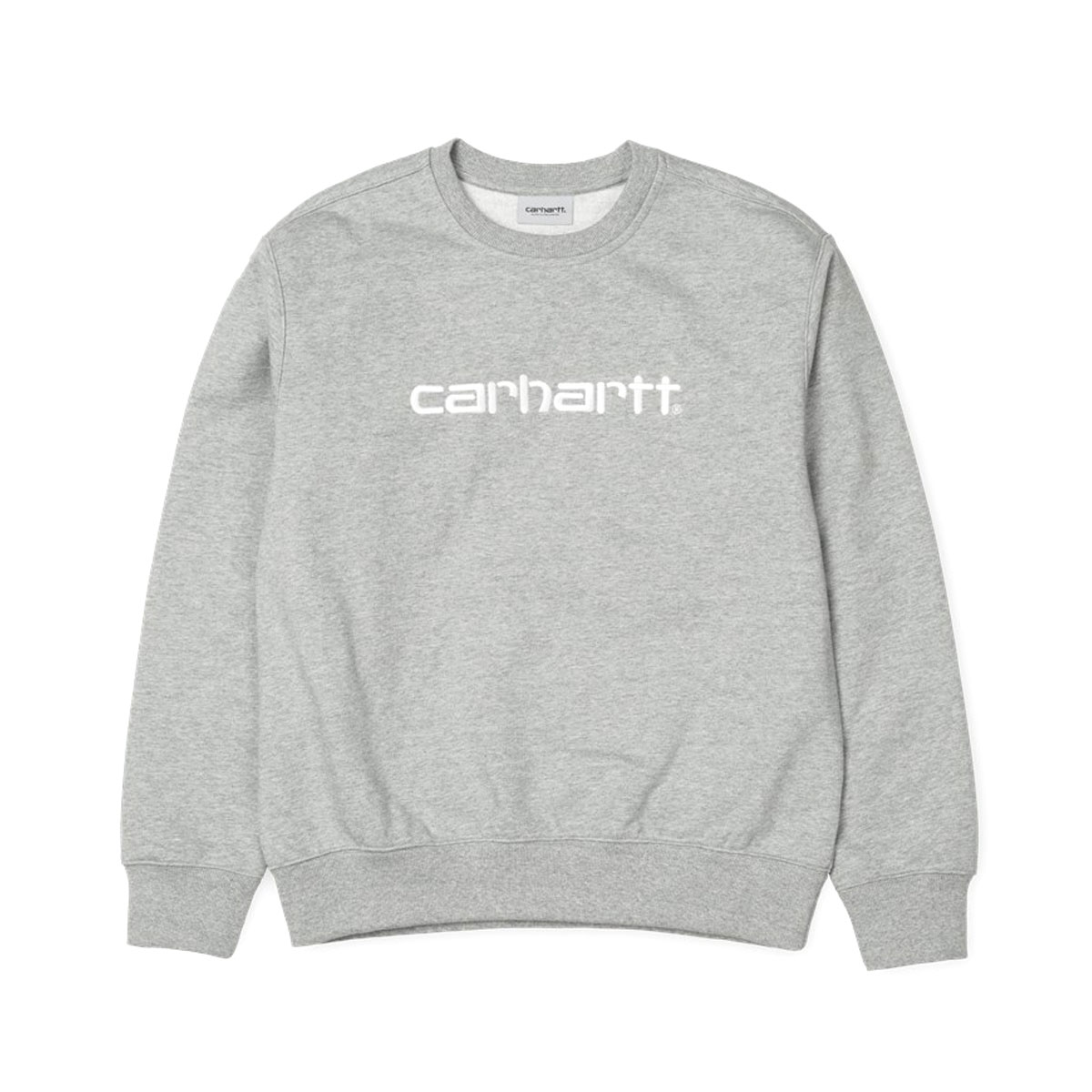 CARHARTT CARHARTT SWEATSHIRT(カーハート スウェットシャツ)Grey Heather/White【メンズ レディース スウェット】18FW-I