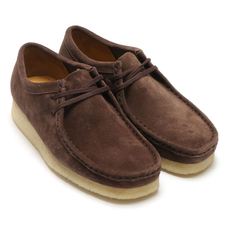 latest collection buying now best supplier Clarks Originals WALLABEE (kulaki original Suwa rabbi -) DARK BROWN SUEDE  DARK BROWN SUEDE 18FW-I