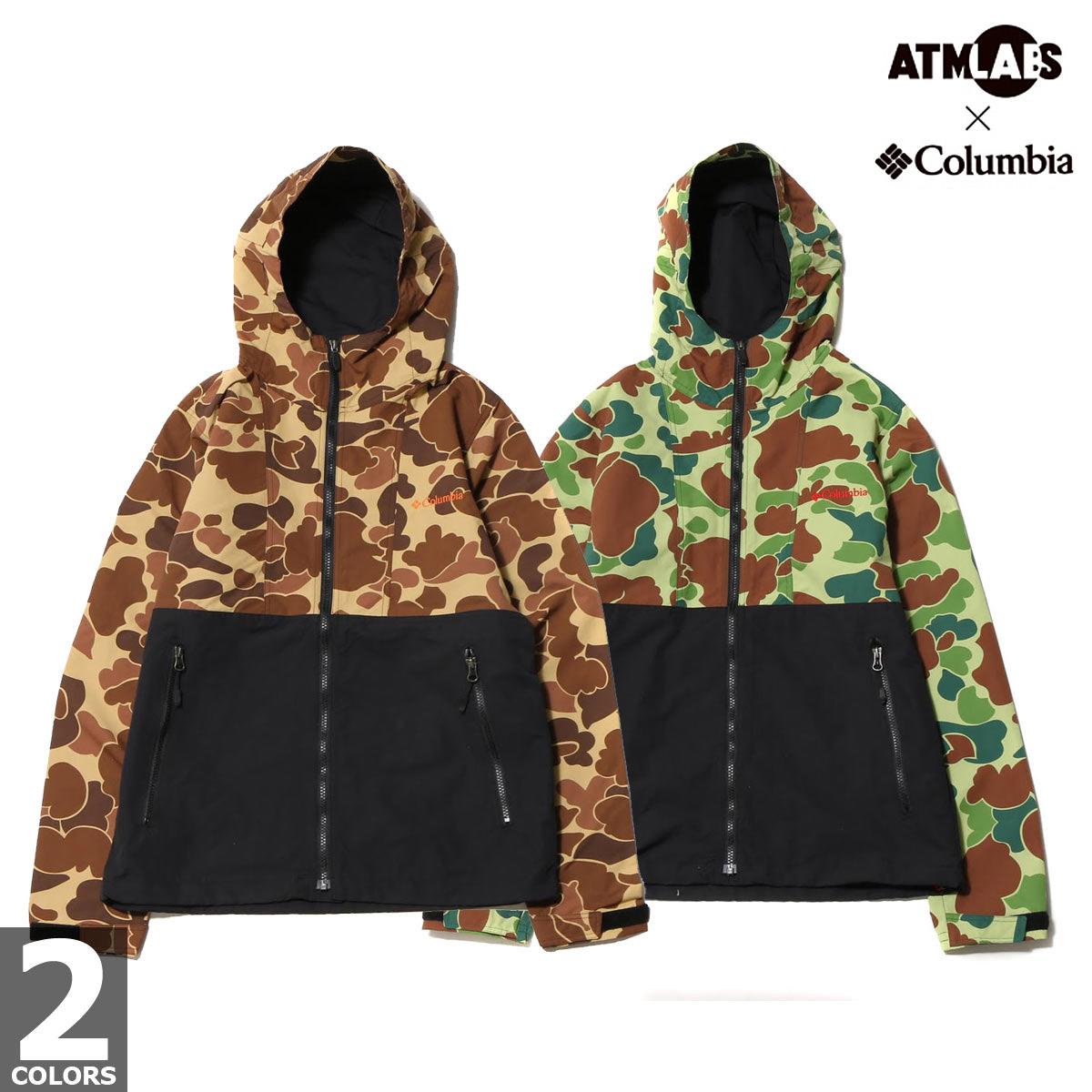 Columbia ATMOS LAB Tyger Sweep(TM) Jacket (コロンビア アトモスラボ タイガースイープ(TM) ジャケット)2色展開【メンズ ジャケット】17SS-S
