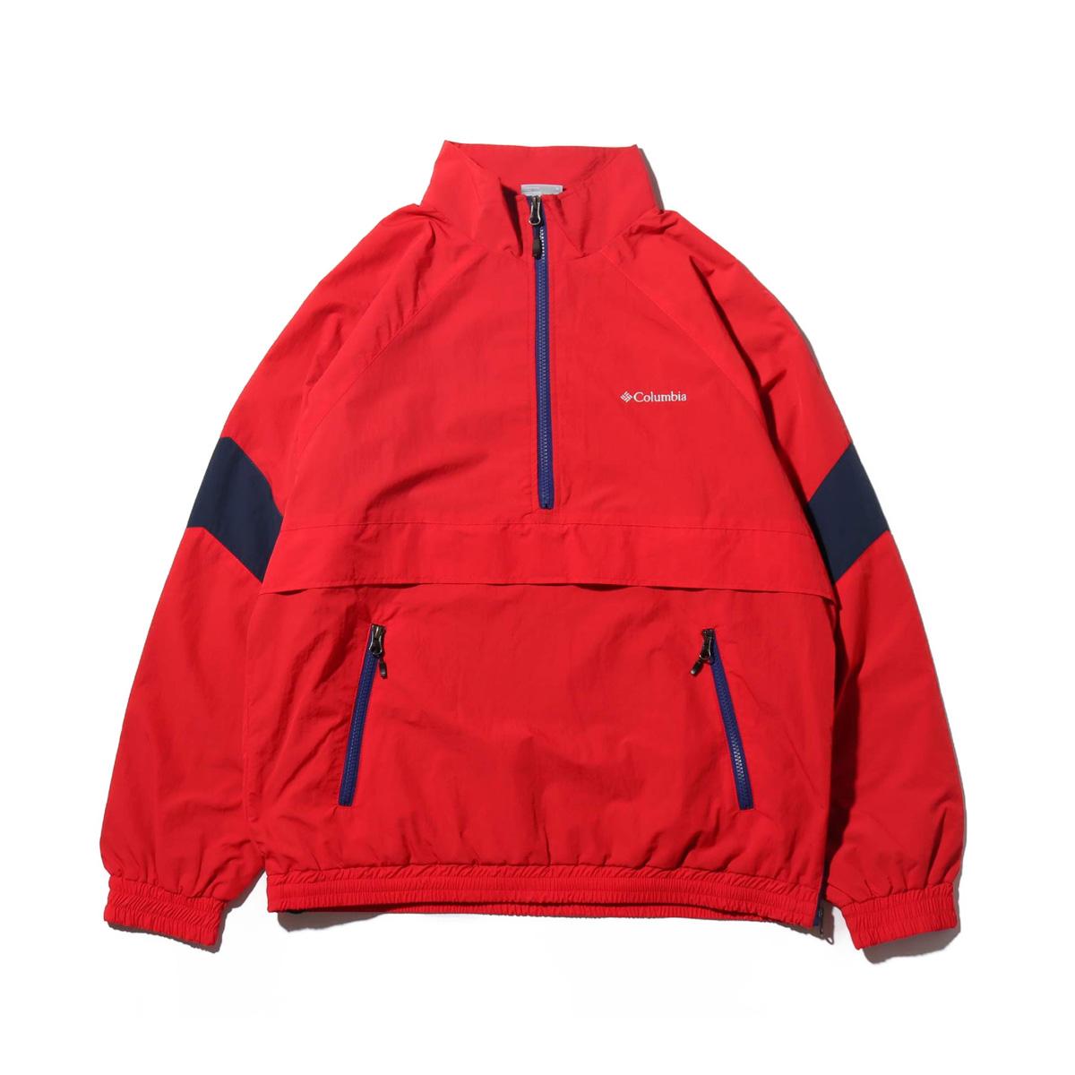 Columbia DOUBLE BROOK AN (コロンビア ダブルブルック アノラック)INTENSE RED【メンズ ジャケット】18FW-I