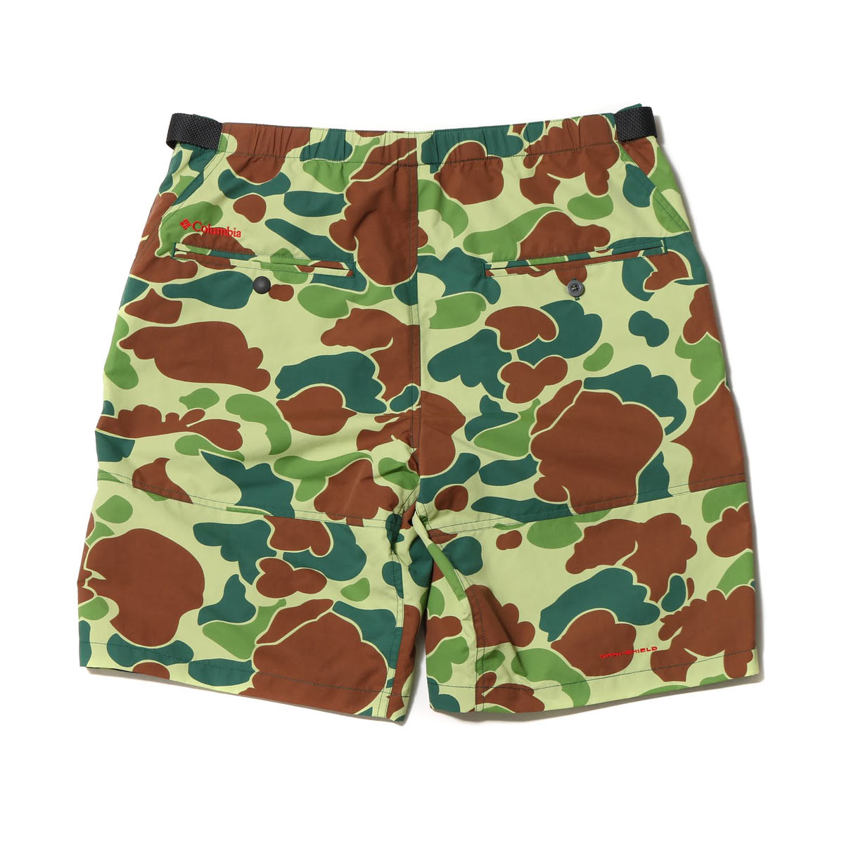 Columbia ATMOS LAB Pliny Peak(TM) Short (Columbian atto- MOS laboratory pre-knee peak (TM) short) two colors development 17SS-S
