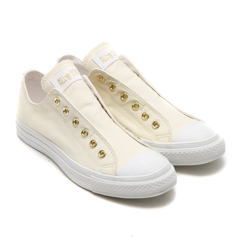 CONVERSE ALL STAR SLIP III OX (III converse all star slip OX) WHITE GOLD