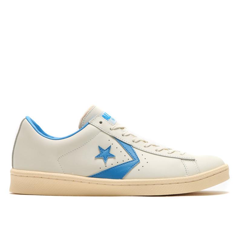 62e4072a454a CONVERSE PRO-LEATHER OX (converse Pro - leather OX) WHITE LIGHT BLUE 16HO-S