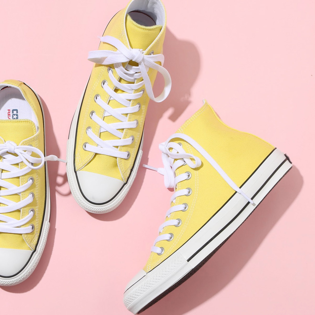 CONVERSE ALL STAR 100 COLORS HI (Converse all stars 100 colors high) (lemon) 17SP I