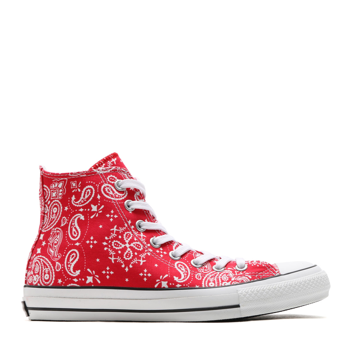 29d912c008b5 CONVERSE ALL STAR 100 BANDANA HI (Converse all-stars 100 bandana HI) (red)  17SS-I