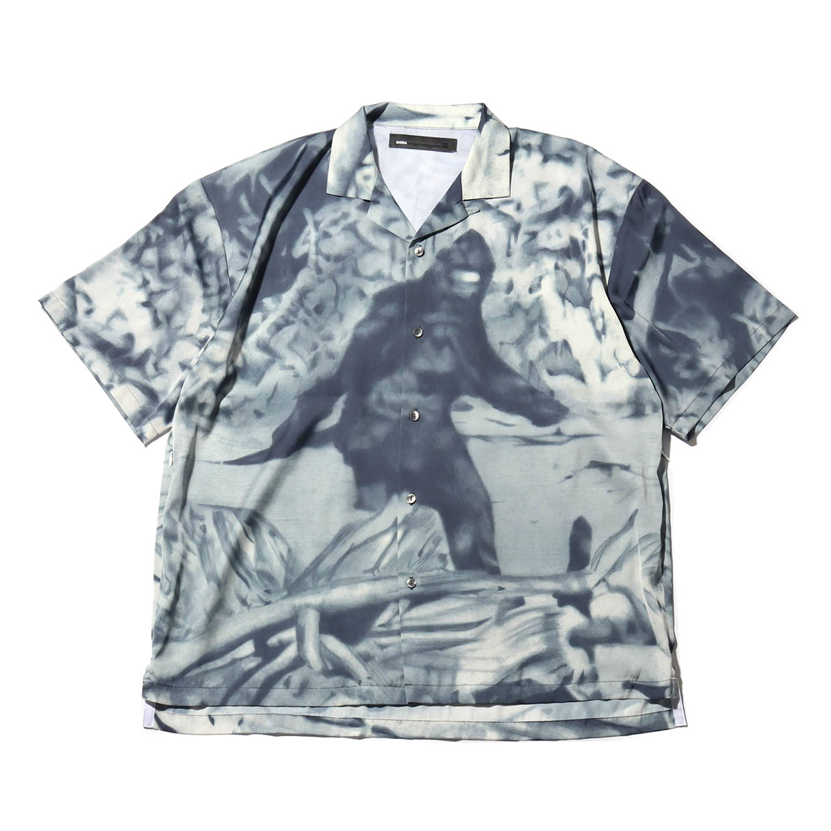 DC SHOES DCBA 19 OPEN-COLLARED SHIRT SS (ディーシーシューズ DCBA 19 オープンカラー シャツ SS)PRINT【メンズ Tシャツ】19SS-I