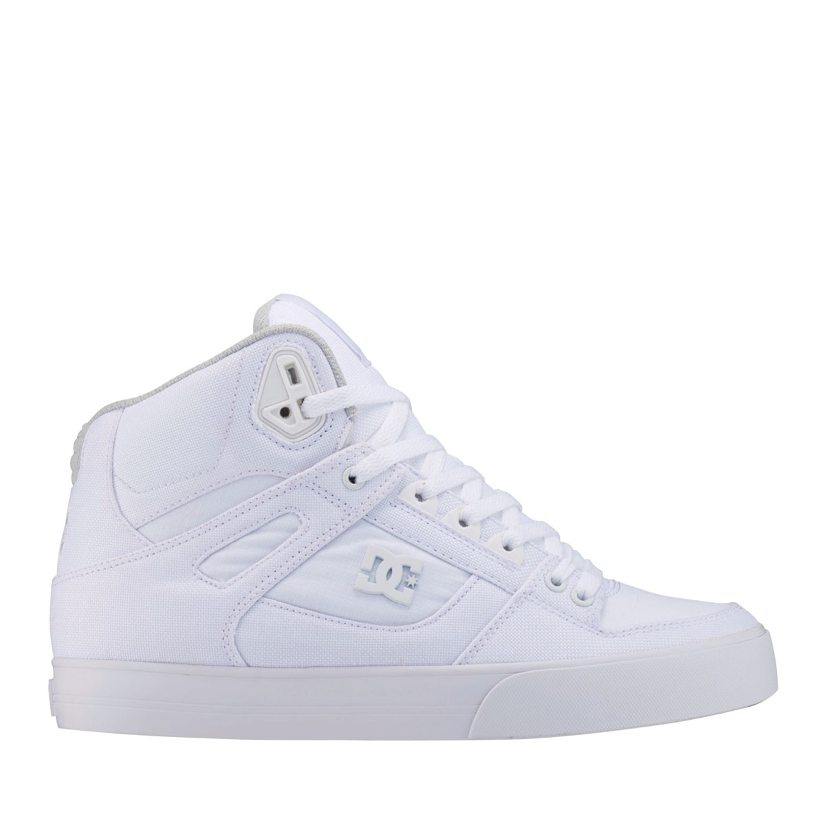 DC SHOES PURE HIGH-TOP WC TX LE(ディーシー シューズ ピュア ハイトップ WC TX LE)WHITE/WHITE【メンズ スニーカー】18SP-I