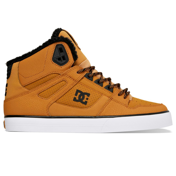 DC SHOES SPARTAN HI WC WNT(ディーシー シューズ スパルタン ハイ WC WNT)WHEAT/BLACK14FW-I