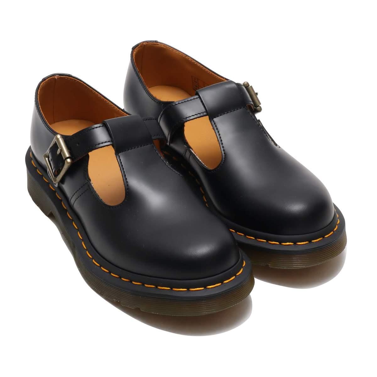 Dr.Martens Polley Black Smooth (ドクターマーチン ポリー ブラックスムース)BLACK【メンズ レディース ブーツ】18FW-I