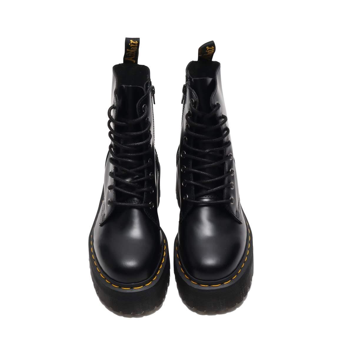 f2d0133e3bbce Dr.Martens QUAD RETRO JADON 8 EYE BOOT (doctor Martin quad nostalgic Jeh  Don 8 eye boots) BLACK 16FW-I