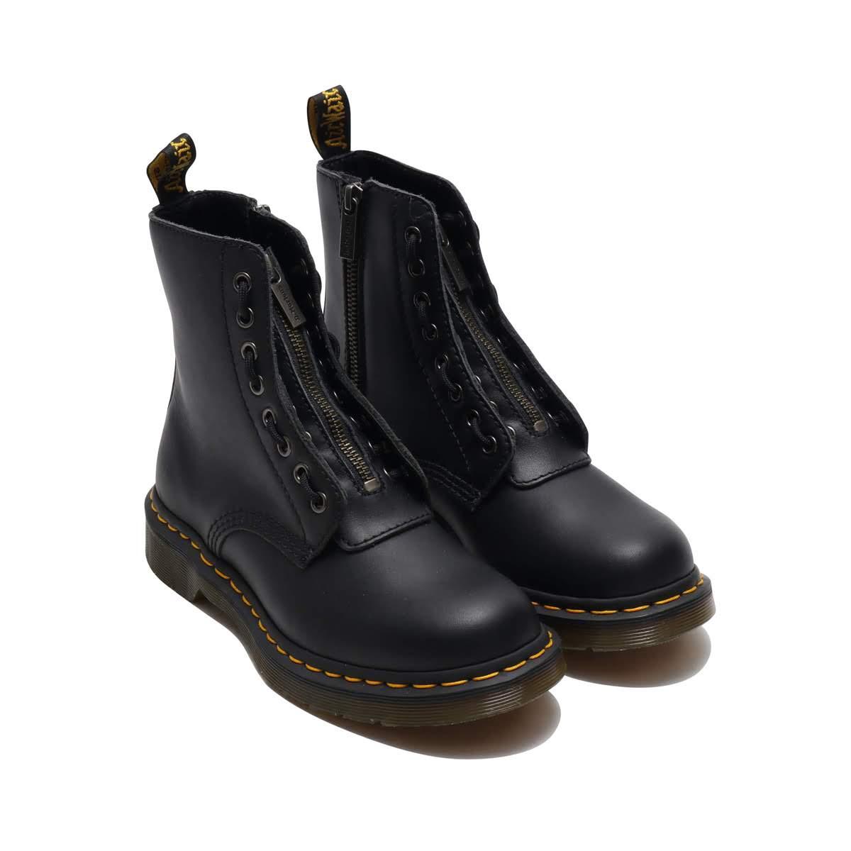 Dr.Martens 1460 Pascal Frnt Zip (ドクターマーチン 1460 パスカル フロントジップ)Black【メンズ レディース ブーツ】18FW-I