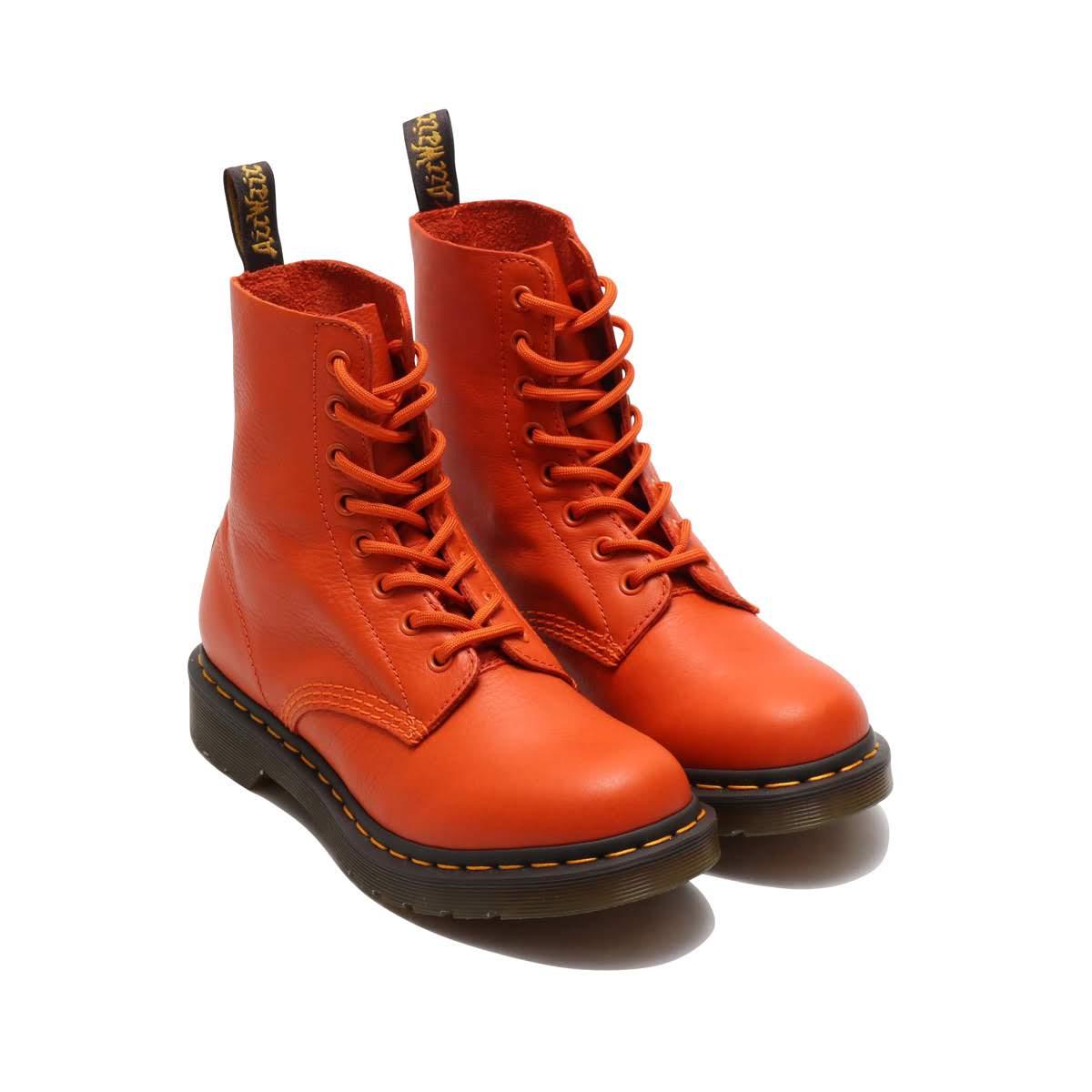 Dr.Martens 1460 Pascal (ドクターマーチン 1460 パスカル)ORANGE【メンズ レディース ブーツ】18FW-I