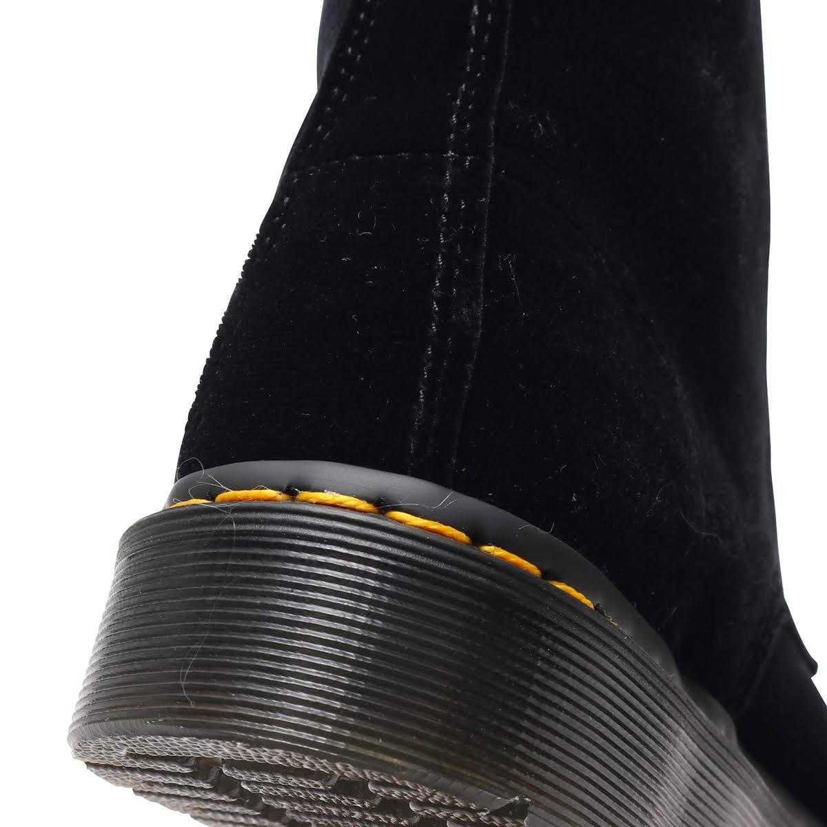 Dr Martens 1460 Pascal Velvetドクターマーチン 1460 パスカル ベルベット Black メンズ レディース ブーツ 18FW IcSRjq534AL