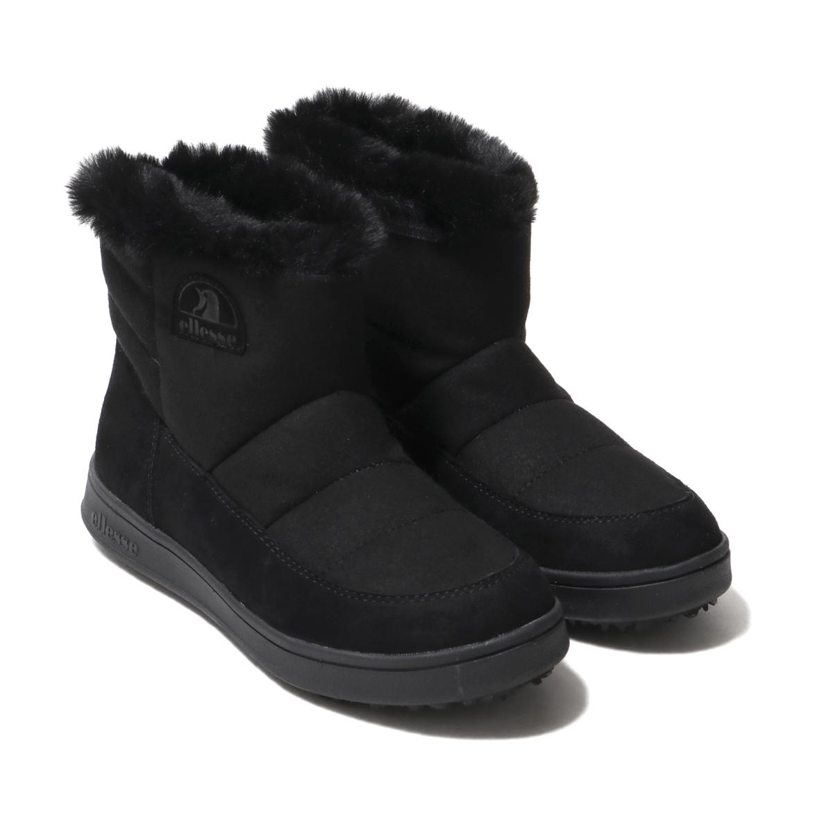 ellesse Heritage Ettore Winter Boots Mid SE (エレッセ エットレー WT ブーツ ミッド SE)BLACK【メンズ レディース ブーツ】18FW-I