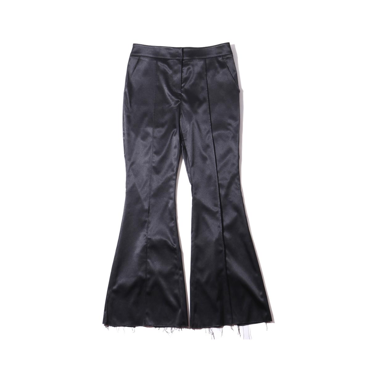 eyeye LACE UP PANTS (アイアイ レースアップ パンツ)BLACK【レディース パンツ】19SP-I